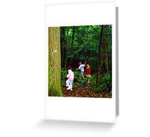 Hop-Skip-Jump Greeting Card