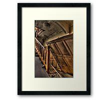 Wooden Panel Framed Print