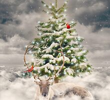All Is Calm. All Is Bright. (Winter Guardian / Winter Reindeer - Day) by soaringanchor