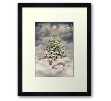 All Is Calm. All Is Bright. (Winter Guardian / Winter Reindeer - Day) Framed Print