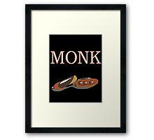 Final Fantasy 14 Job Class Plakatstil - Monk Framed Print