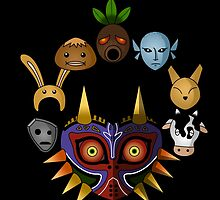 Lots of masks! by CoyoDesign