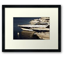 Million Dollar Marina Framed Print