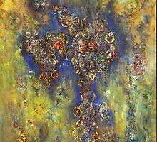 """""""Emanation"""", Copyright Chitra Ramanathan 2008. Private Collection, California, U.S.A by Chitra Ramanathan"""