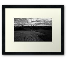 London view from Primrose Hill Framed Print