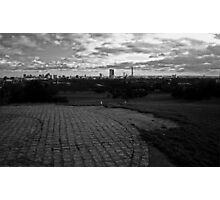 London view from Primrose Hill Photographic Print