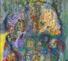 """""""Fugacious"""", Copyright Chitra Ramanathan 2008. Private collection, San Francisco, California USA by Chitra Ramanathan"""