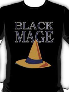 Final Fantasy 14 Job Class Plakatstil - Black Mage T-Shirt