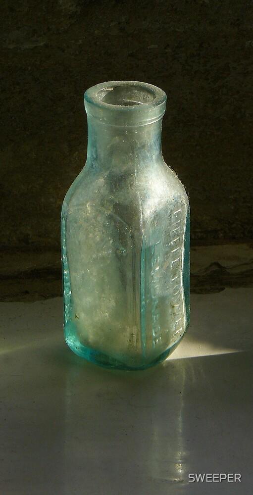 Old Eiffel Tower lemonade bottle  by SWEEPER