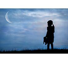 Moonbeam Photographic Print