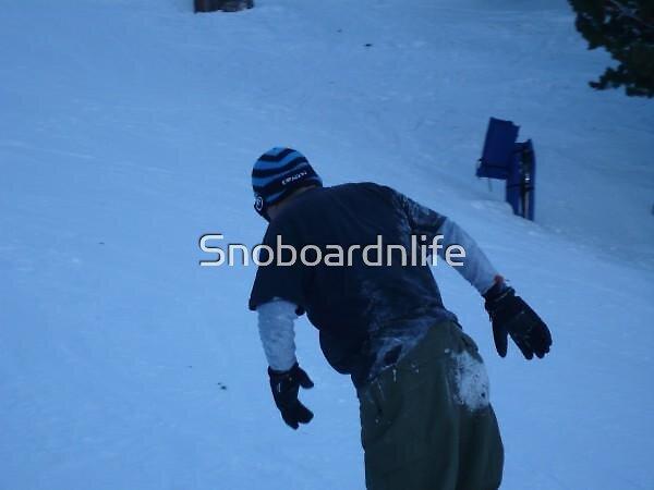 Frozen Butt by Snoboardnlife