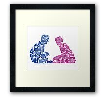 Sixteen Candles Quoted Image  Framed Print