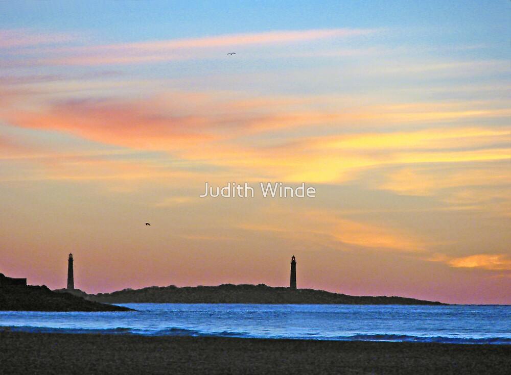 Thatcher Island Sunrise by Judith Winde