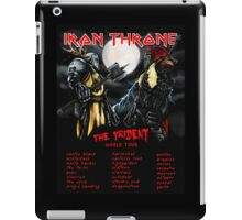Iron Throne Tour iPad Case/Skin