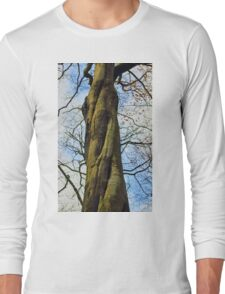 Twisted tree trunk Long Sleeve T-Shirt