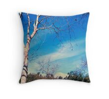 Just waiting for Spring Throw Pillow
