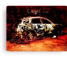 carnage is mine Canvas Print