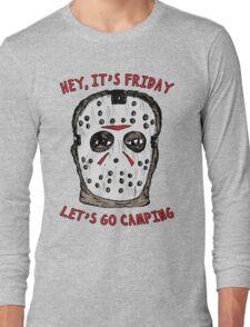 Friday Camping Long Sleeve T-Shirt