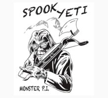 Spook Yeti, Monster P.I. by robyeti