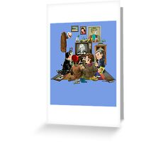 50 Years of The Doctor Greeting Card