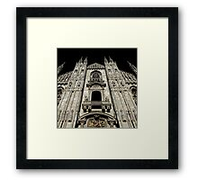 Milan Cathedral, Il Duomo Framed Print
