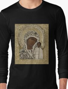 Russian Icons Long Sleeve T-Shirt