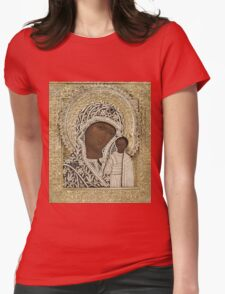 Russian Icons Womens Fitted T-Shirt