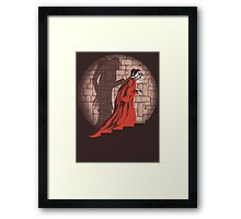 Shadow Mismatch Framed Print