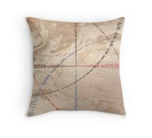 Earth Fire Water Air Throw Pillow