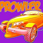Cartoon Prowler from VivaChas Hot Rod Art! by ChasSinklier