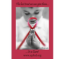 Find a Cure  Photographic Print