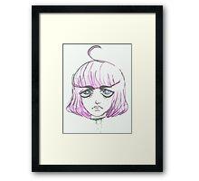 space girl. Framed Print