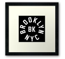 BROOKLYN - NYC Framed Print