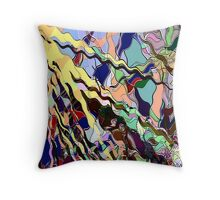 Calling All Neurons Throw Pillow
