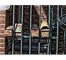 Old Mail boxs Photographic Print