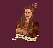 Molly Hooper: Queen of his mind palace Womens Fitted T-Shirt
