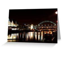 Tyne Bridge(s) + The Sage Greeting Card