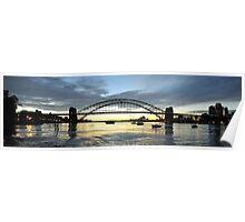Glory - Revisted, Sydney Harbour ,Australia Poster