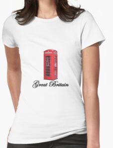 Great Britain Womens Fitted T-Shirt