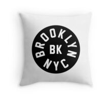 Brooklyn - NYC  Throw Pillow