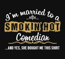 Funny Comedian T-shirt by musthavetshirts