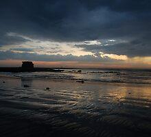 Sunset in the Rain by Brett Wakeman