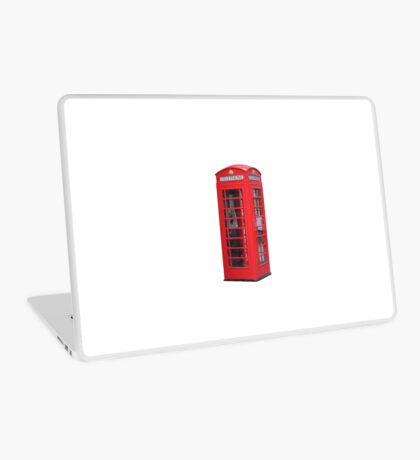 Red Telephone Box Laptop Skin