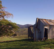 Bush Hut by Brett Wakeman