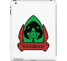 Slig Barracks iPad Case/Skin