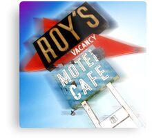 roy's, route 66, california Metal Print