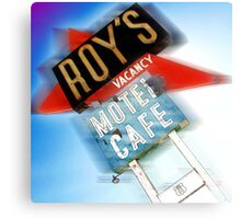 roy's, route 66, california Canvas Print
