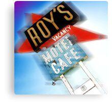roy's, route 66, california Canvas Print