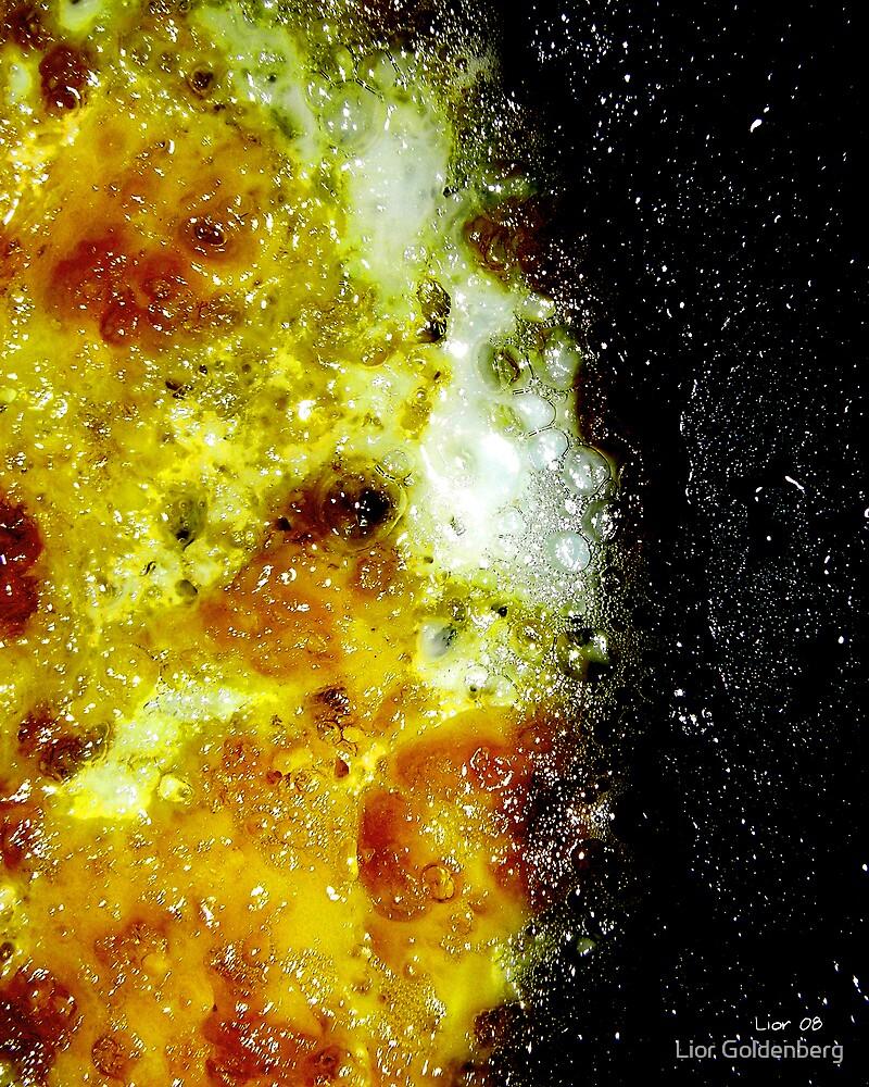 Solar flares by Lior Goldenberg