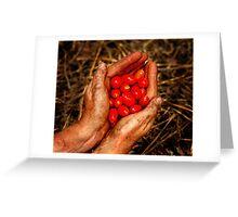 Gardeners rewards Greeting Card